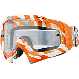 ONeal B-10 Goggle STREAM orange/blue-clear